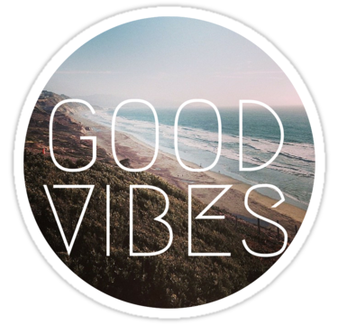 Hipster transparent good vibes. Cool beach tumblr lyrics