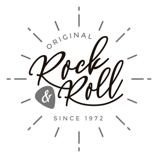 Hipster transparent rock n roll. And logo png svg