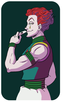Hisoka drawing poor. Why is with them