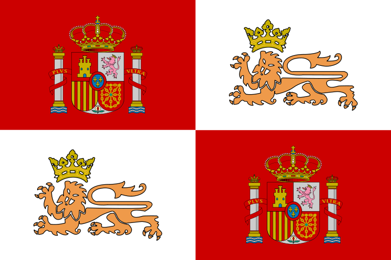 Historic flag. Free clipart of the