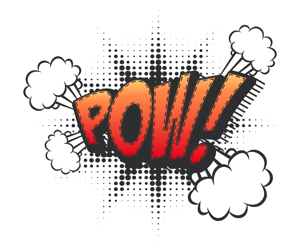 Pow comic comics emetcomics. Hit effect png picture library library