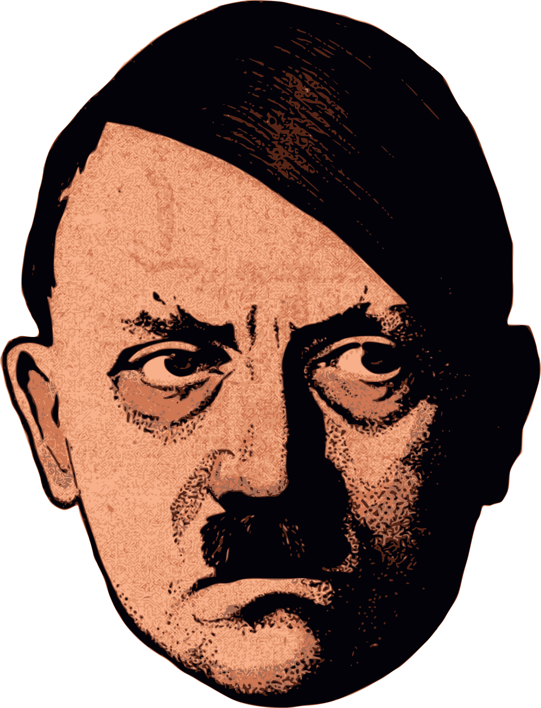 Adolf hitler face png