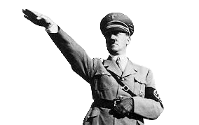 Adolf icon small by. Transparent hitler heil stock