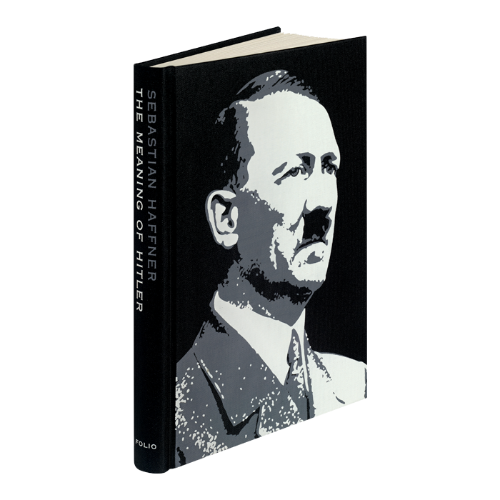 Transparent hitler illustration. The meaning of folio