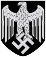 Nazi vector famous. Coat of arms germany