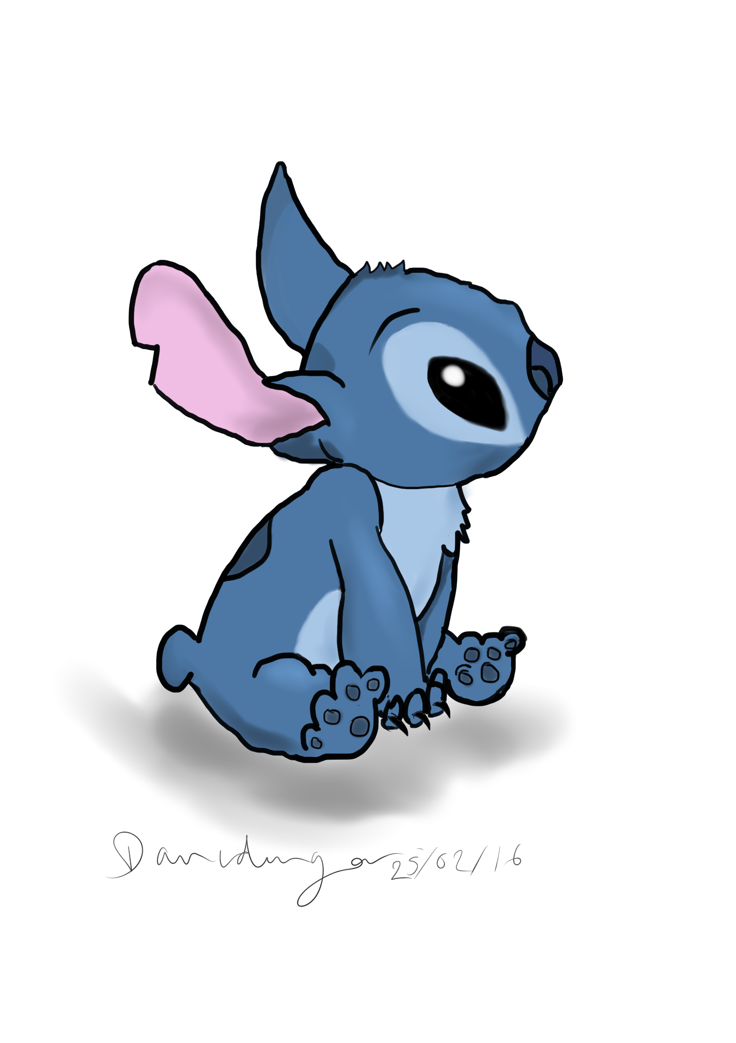 Hobo drawing stitch. First digital art by