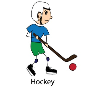 Hockey clipart sport. Image kid playing