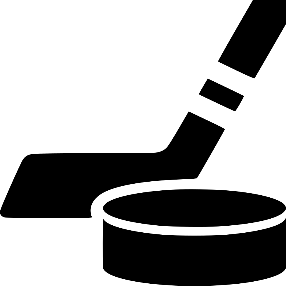 Hockey puck and stick png. Svg icon free download