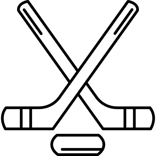 Hockey stick outline png. Sticks and puck free