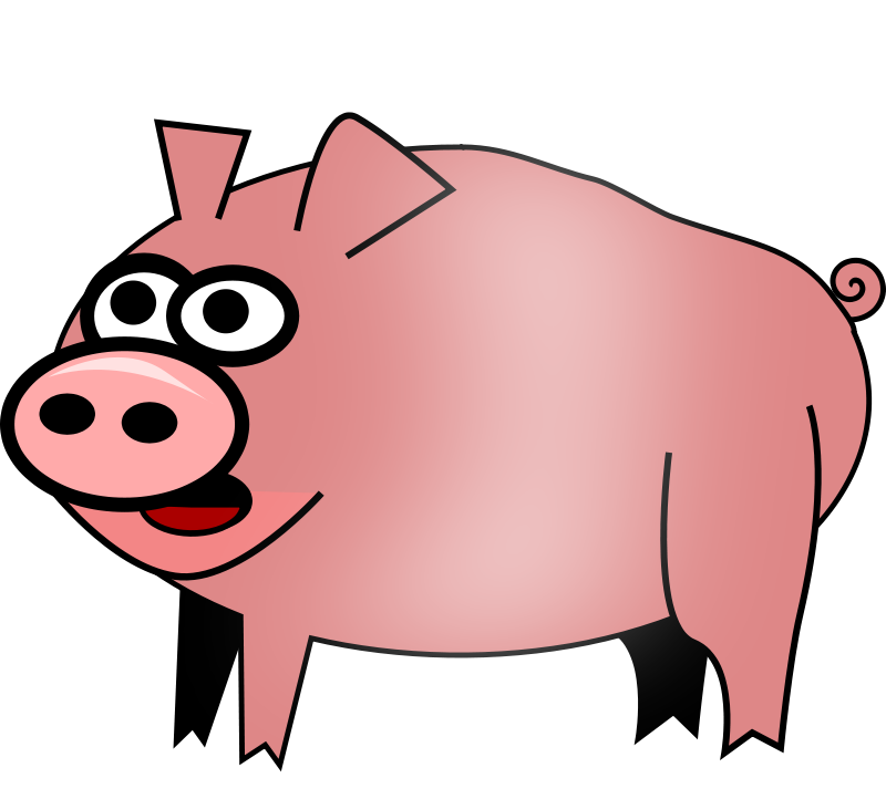 Hog clipart pink thing. Free cliparts download clip