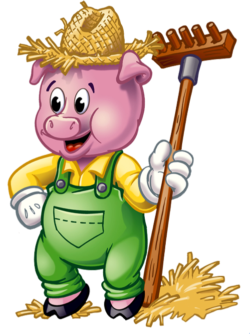 Three little clipart. Free pigs download clip