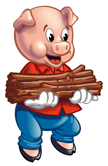 3 little pigs png. Free three clipart download