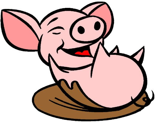 Mud clipart pig pen. The best pigs images