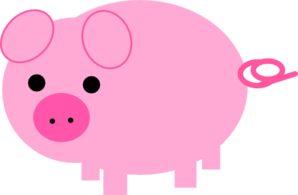 Hog clipart pink thing. Free pig cliparts download