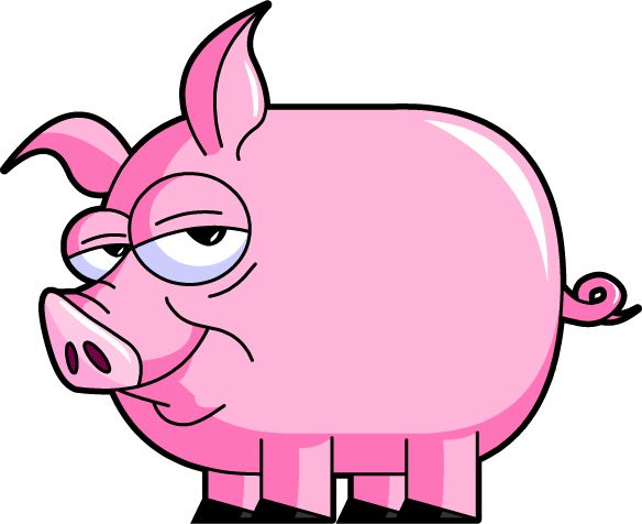 Hog clipart pink thing. Image detail for pig