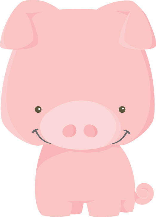 Hog clipart pink thing. Fazenda farm pig png