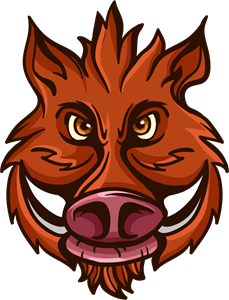 Hog vector wild boar. Logo vectors free download