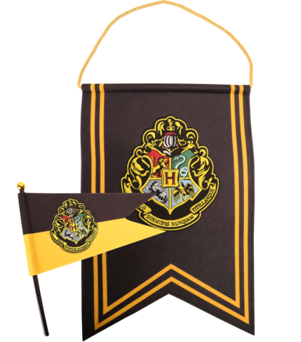 Hogwarts banner png. And pennant