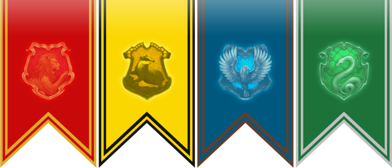 Hogwarts banner png. The sorting hat chats