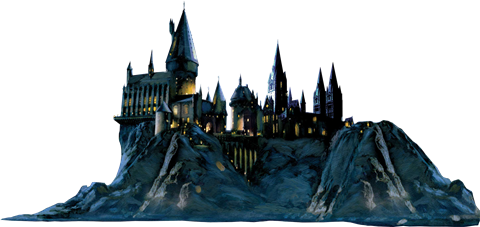 Hogwarts castle png. Cut out harry potter