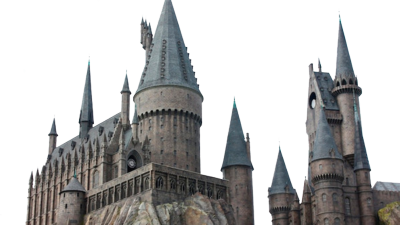Hogwarts castle png. Clipart psd vector graphics