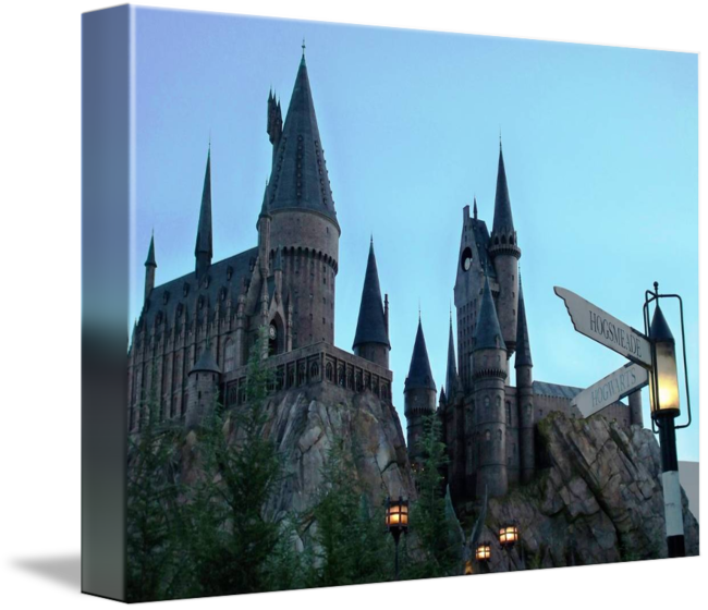 Hogwarts castle png. By kirby fortin