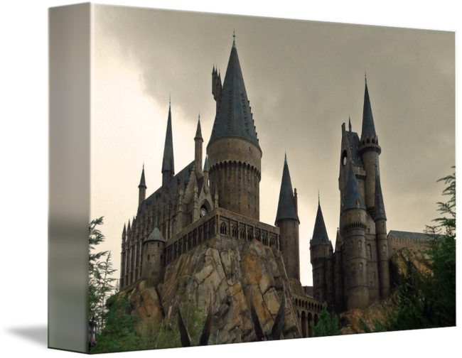 Hogwarts castle png. Universal studios orlando by
