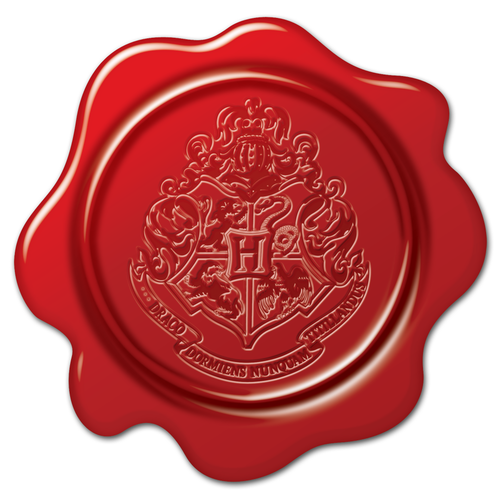 a bc be. Hogwarts seal png clipart black and white