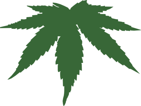 Free de cannabis clipart. Hoja vector clipart freeuse library