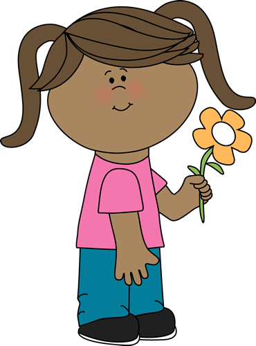 Sunflower clipart tall sunflower. Free girl flowers cliparts