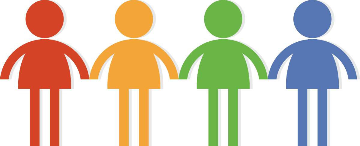 People holding hands . Teamwork clipart image free download