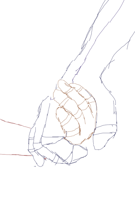 Holding hands drawing png. Sketch by liongirl on