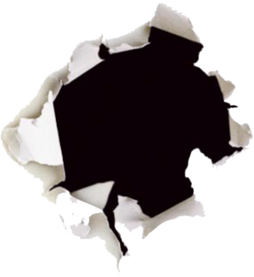 ripped paper hole png