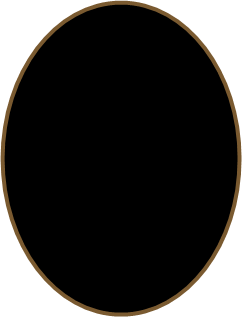 Transparent hole ground. In png image
