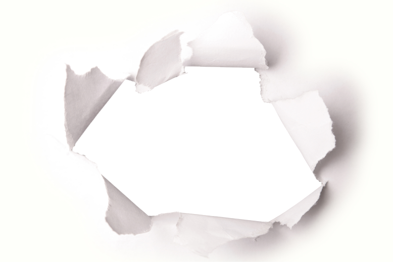 Hole in paper png. Psd official psds