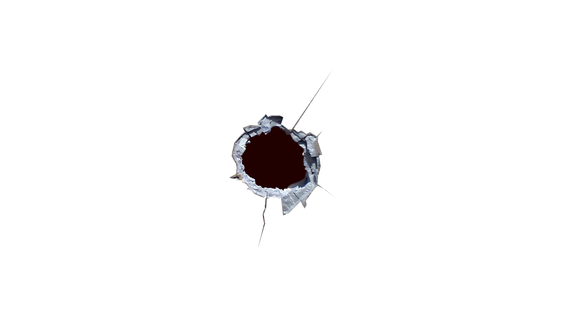 Hole in wall png. Bullet holes icon web