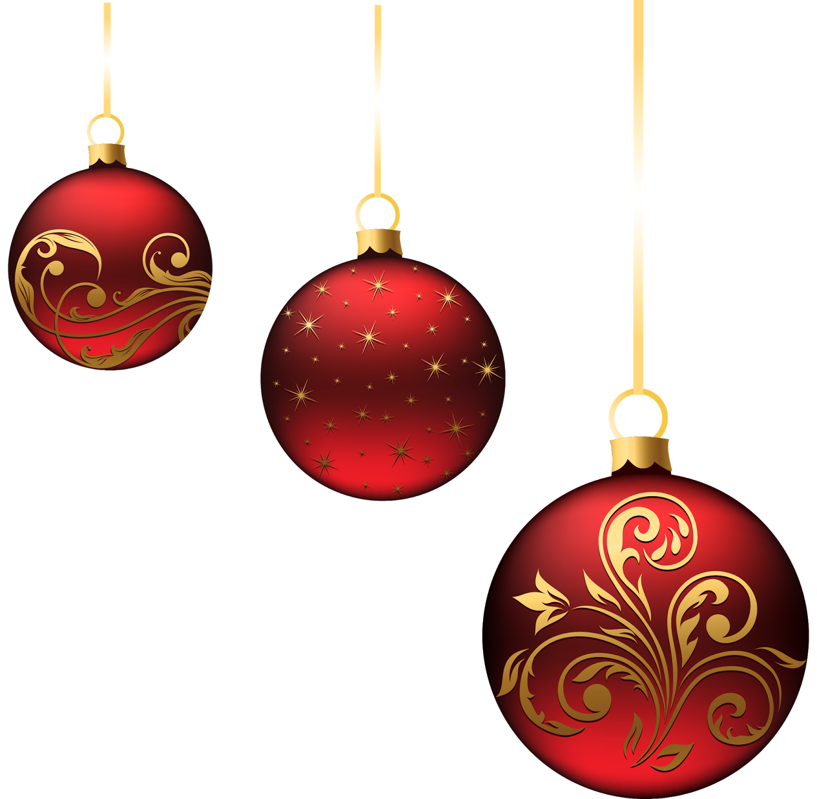 Transparent ornament. Christmas png images download