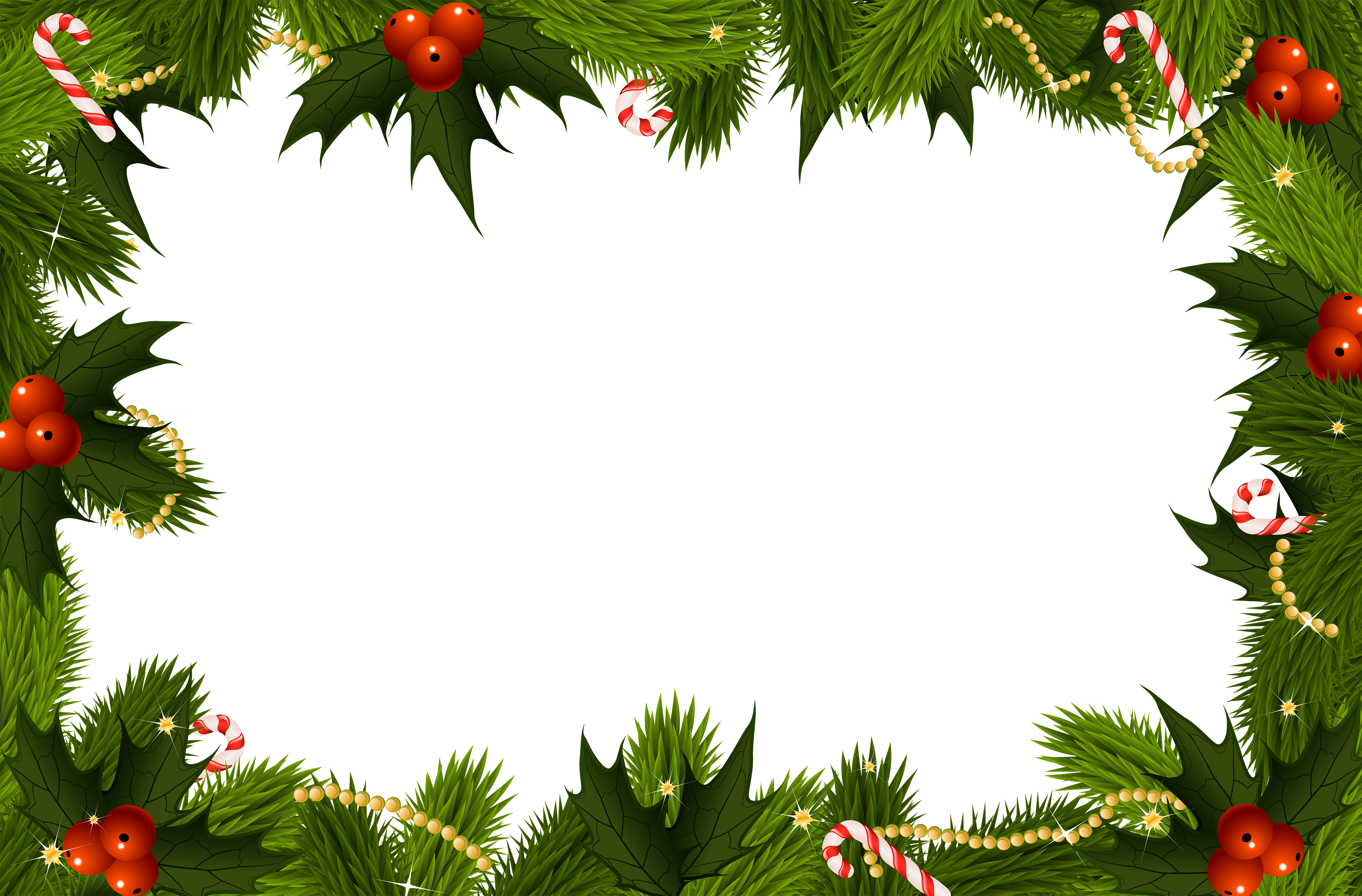 Holiday border png. Christmas transparent frame gallery