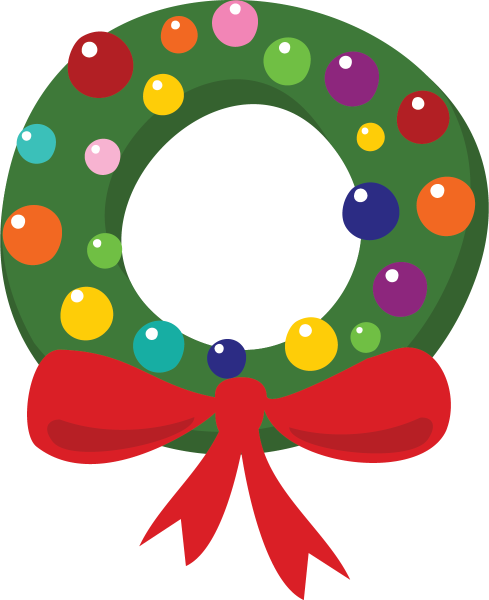 Happy holidays outline