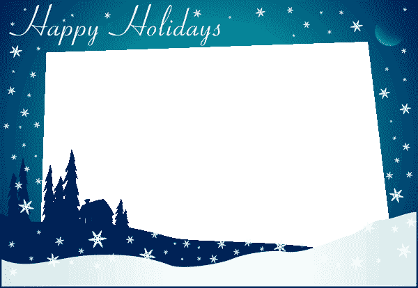 Holiday greeting card border png. Free templates fast lunchrock