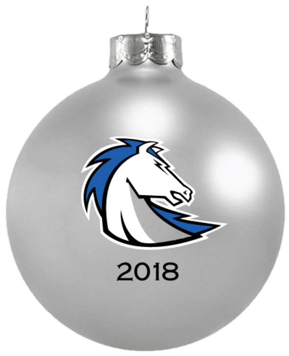 Clear transparent ornament. Chargers holiday springs high