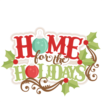 home for the holidays png