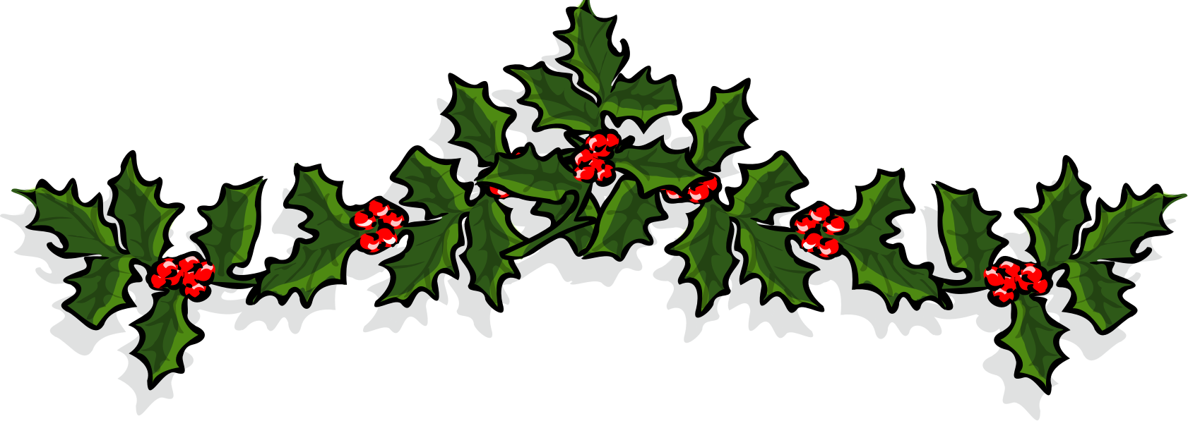 Icons png free and. Transparent holly holiday vector download