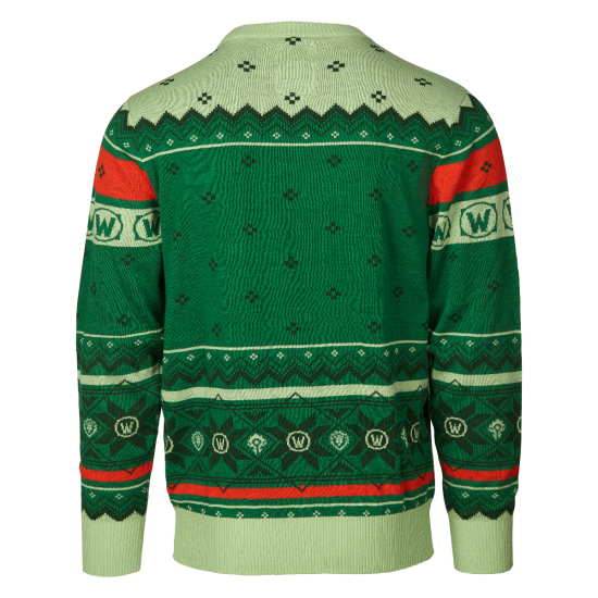 Holiday sweater png. World of warcraft ugly