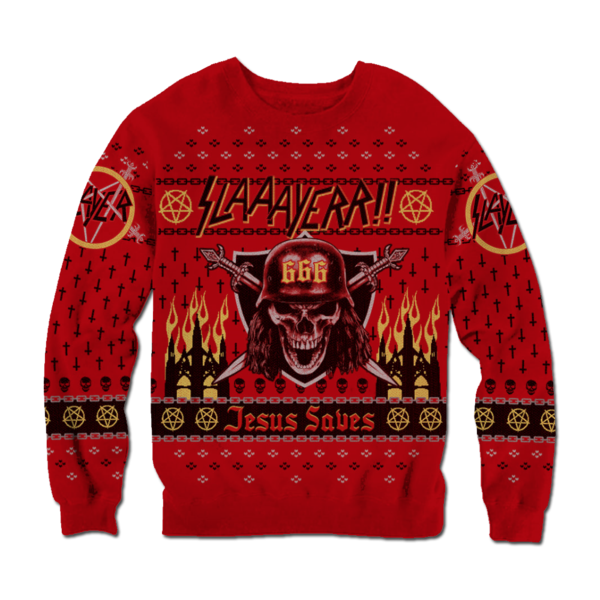 Holiday sweater png. Slayer gift guide store