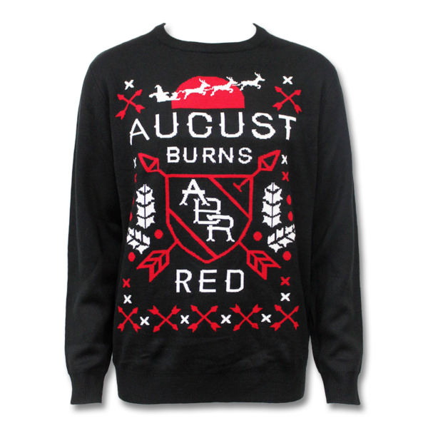 Holiday sweater png. Official august burns red