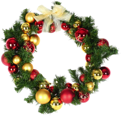 Holiday wreath png file. Christmas transparent pictures free