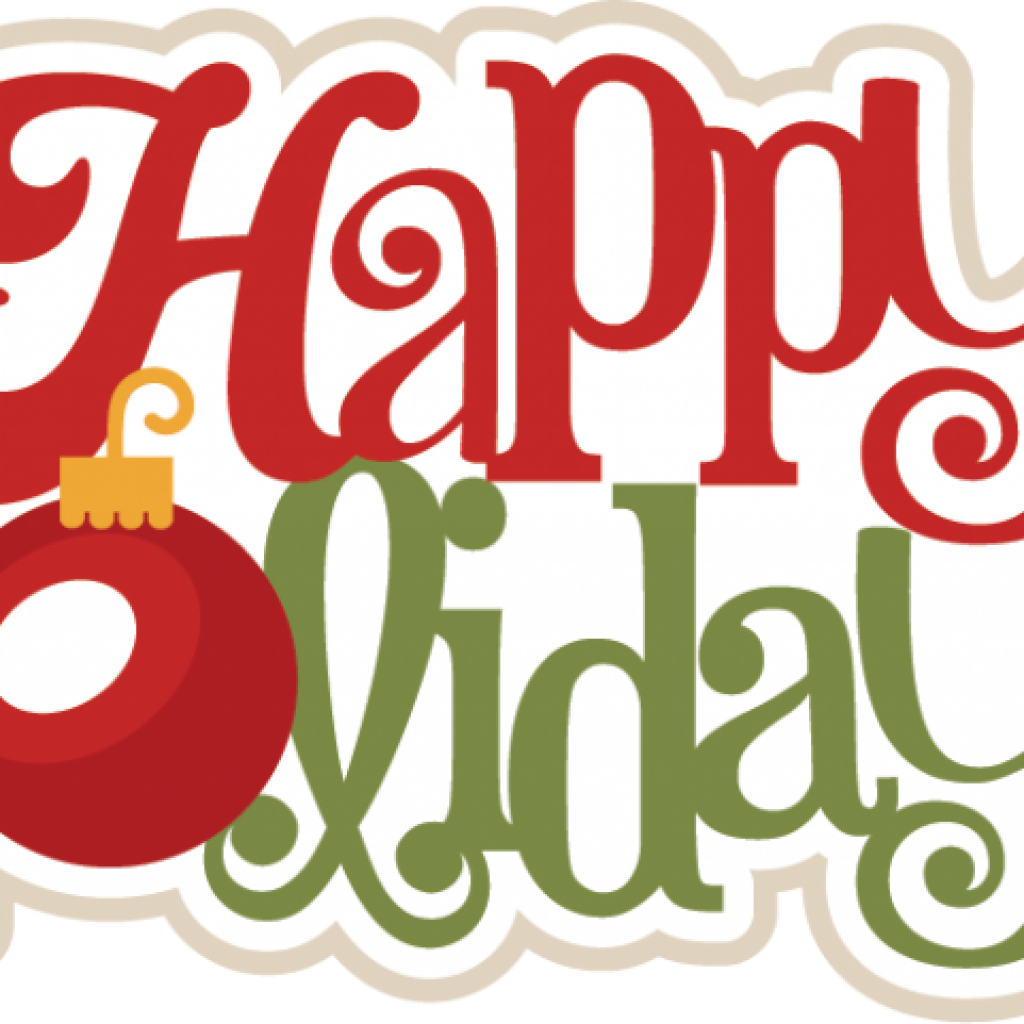 Holidays clipart. Happy free download svg
