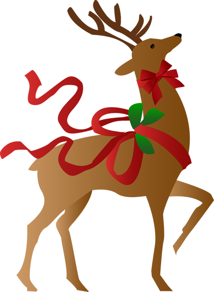 Happy holidays clipart reindeer. Free christmas a clip