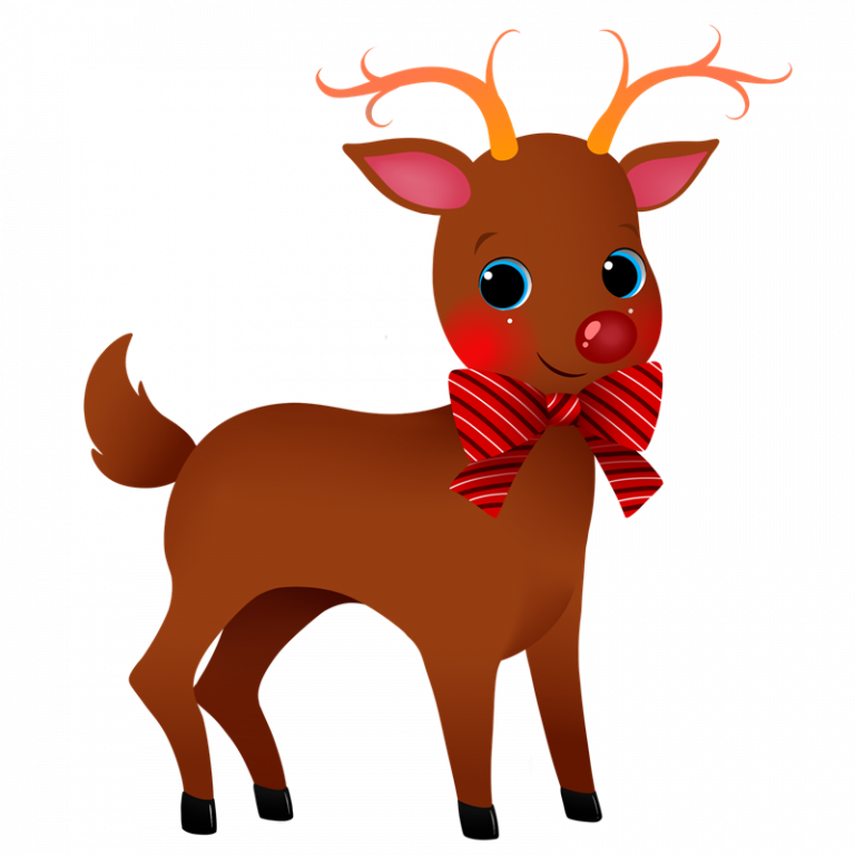Holidays clipart reindeer. Free christmas clip royalty